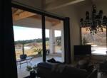 Baie coulissante à galandage 2 vantaux série ASS50 à levage - Création La Cadière d'Azur 2013