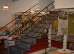 Escalier intérieur métallique
