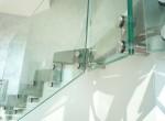 Garde corps intérieur en verre sécurit