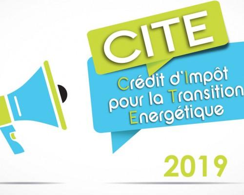 Crédit d'impôt les changements au 01 janvier 2019