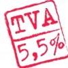 Taux TVA réduit à 5.5 %