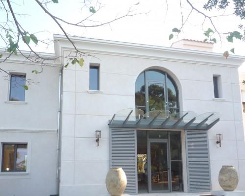 Installation des menuiseries d'une maison à Toulon - 2007