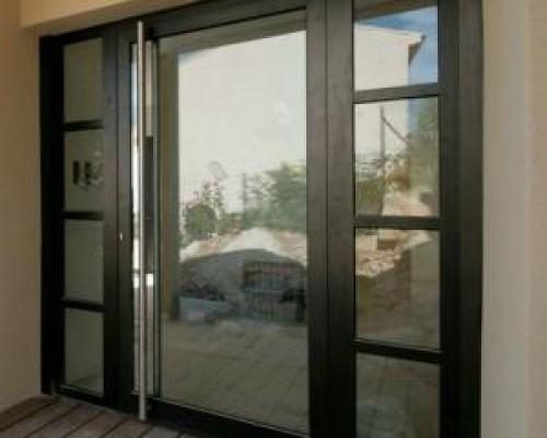 Portes d'entrée Aluminium de la gamme Schüco