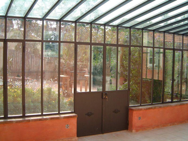 Création d'une véranda en acier - 2000 Toulon (Var) Draguignan